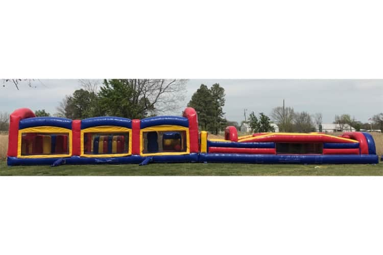 61 FT Obstacle Course