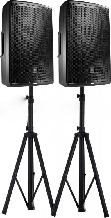 JBL Pro Audio 2000W Speakers