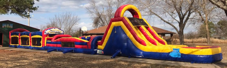 95 FT Obstacle Course